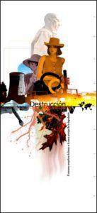carteles exposición en cantabria sobre la pobreza. Destrucción ambiental