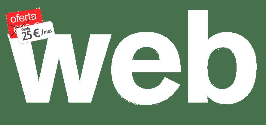 oferta paginas web para comercio de torrelavega