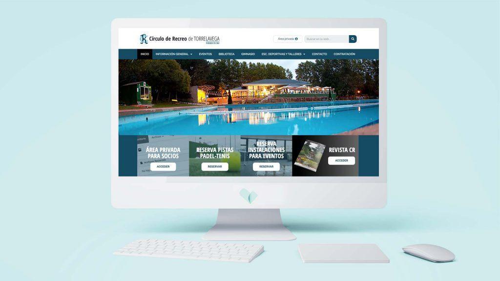 Página web del Círculo de Recreo de Torrelavega