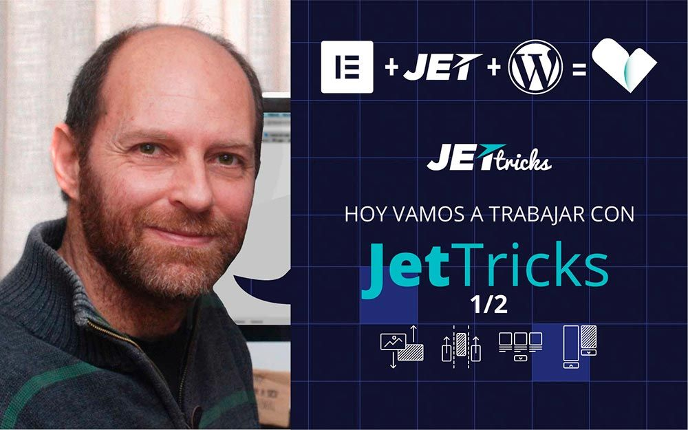 Tutorial web con Crocoblock y JetTricks para Elementor